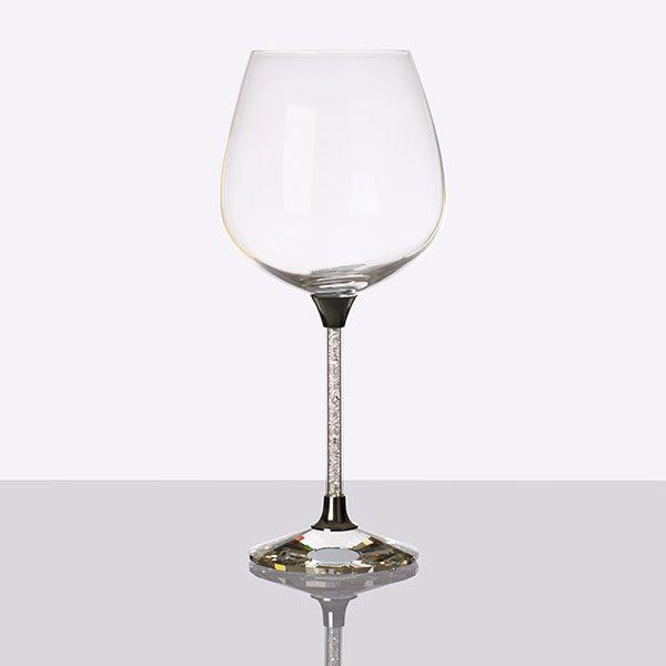 Crystal Filled Stem Wine Grey (2)